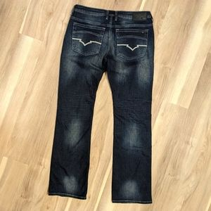 Buffalo King X Basic men's dark wash jeans 32w 34l